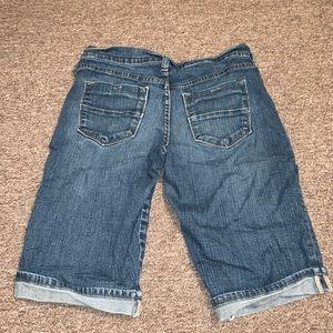 Old Navy Bermuda jean shorts.